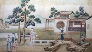 Historic Chinese lifestyle print