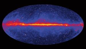 gamma sky map